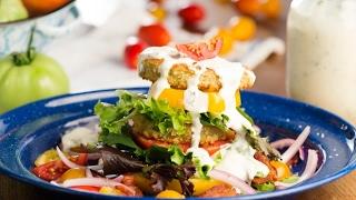 Fried Green Tomato & BLT Salad