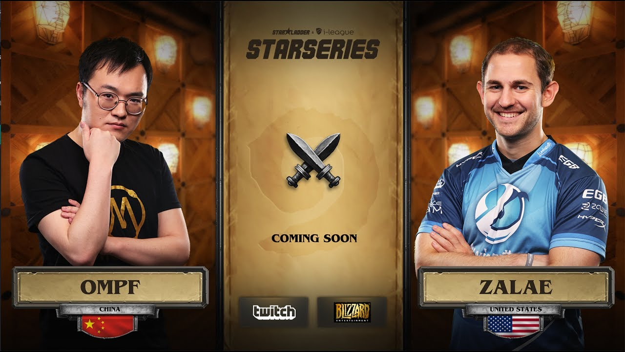 [EN] OMPF vs Zalae | SL i-League Hearthstone StarSeries Season 3 (11.06.2017)