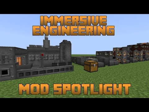 Immersive Engineering Mod Spotlight!