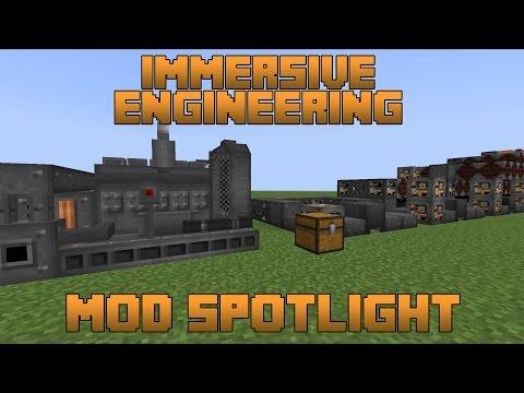 Immersive Engineering Mod Spotlight!