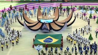 fifa world cup brazil 2014 opening ceremony