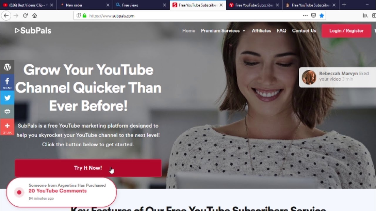 27 12 MB) how to get subscribers on youtube free and get