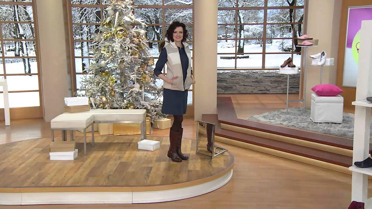 dfa8dbd2f61 Clarks Leather Tall Shaft Boots w  Buckle Detail - Plaza Pilot with Carolyn  Gracie