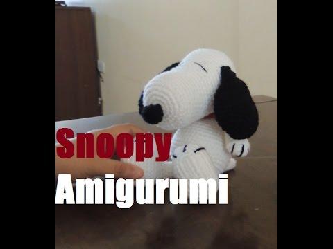 Amigurumi Tutorial Snoopy : Snoopy amigurumi crochet youtube