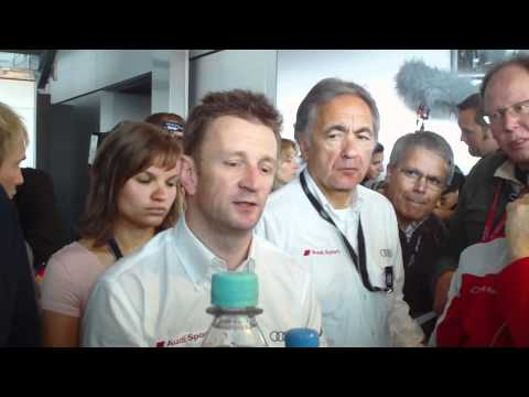 2011 24 Hours of Le Mans: Allan McNish Talks About His Accident with the Audi R18 TDI