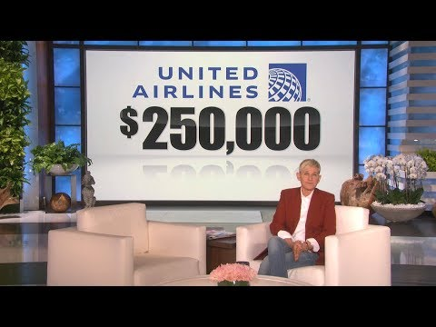 A Big Donation From United Airlines To Ellen's Australia Relief Fund