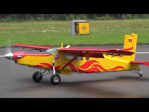 PILATUS PC-6 TURBO-PORTER RC SCALE AIRPLANE FAI 2018