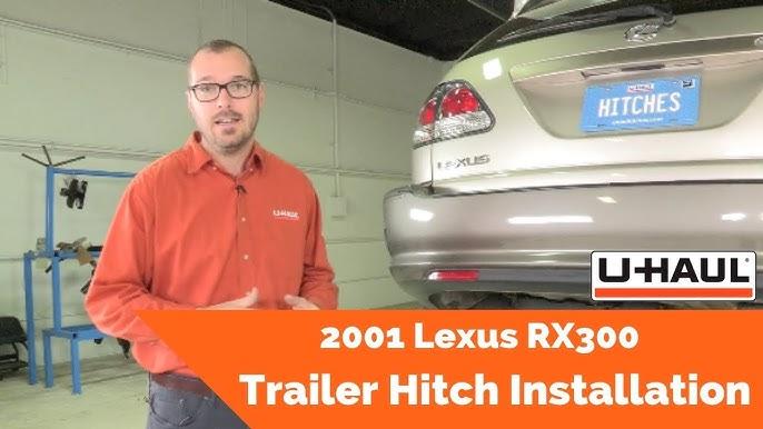 2001 Lexus RX300 Trailer Wiring Installation - YouTubeYouTube