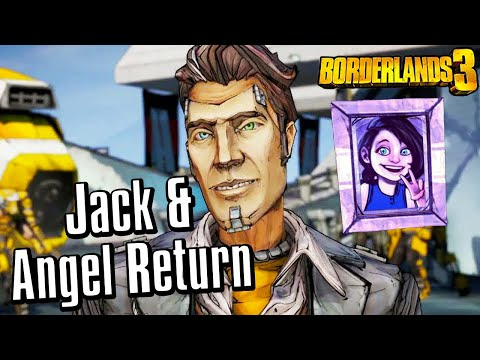 Handsome Jack and Angel RETURN in Borderlands 3 (ALL Echo Recordings)
