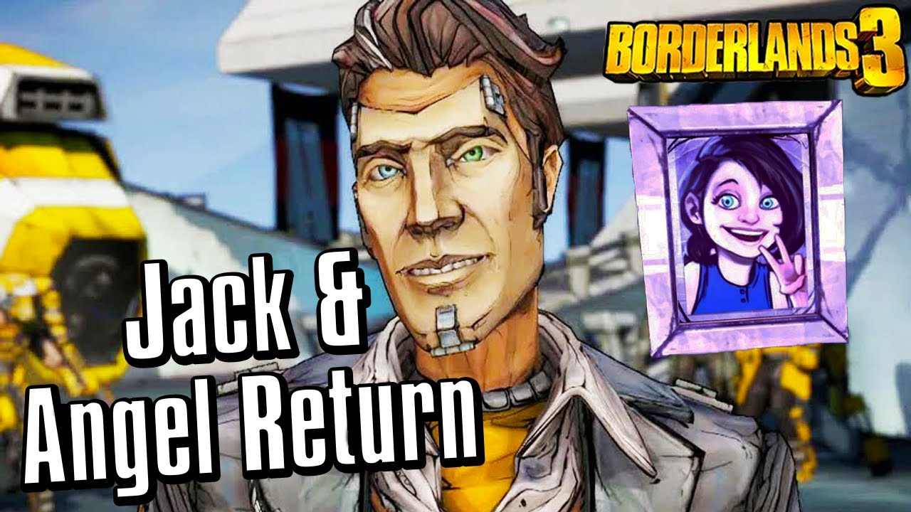 Handsome Jack And Angel Return In Borderlands 3 All Echo Recordings