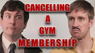 Cancelling a Gym Męmbership - Foil Arms and Hog
