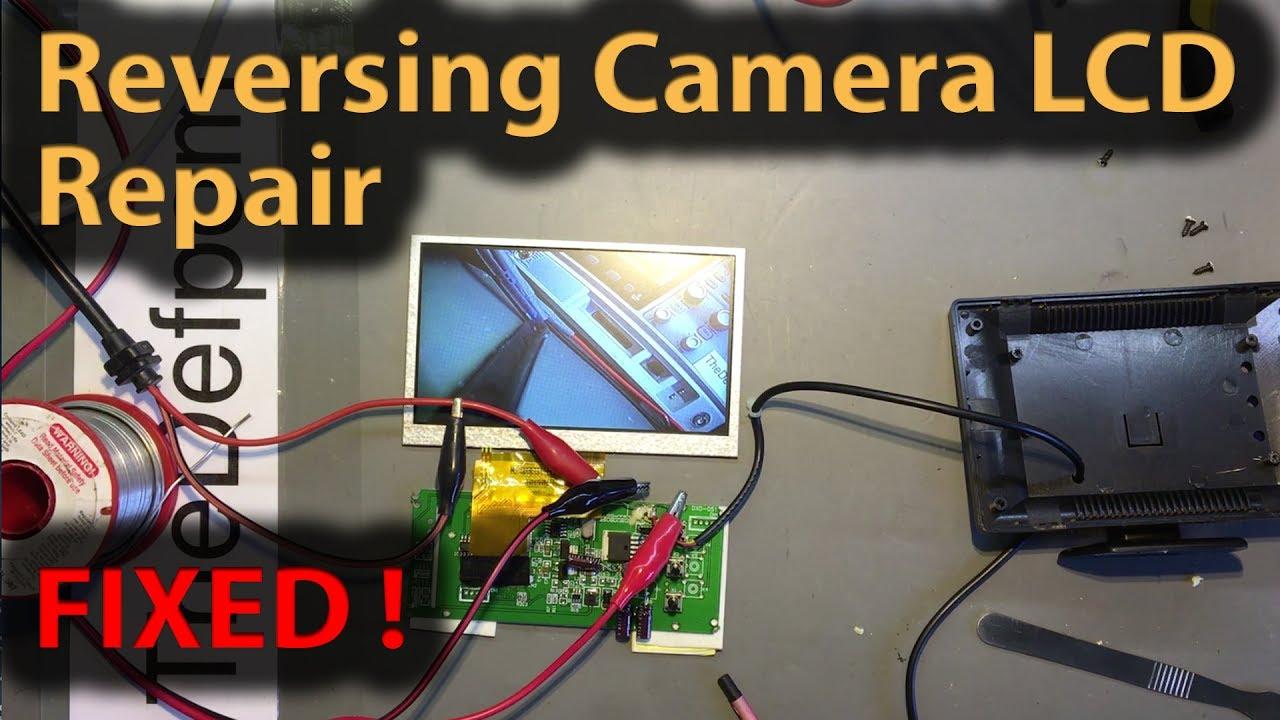 Fix My Car >> #250 Reversing Camera Flickering LCD Screen Repair - How Fo Fix Reversing Camera - YouTube