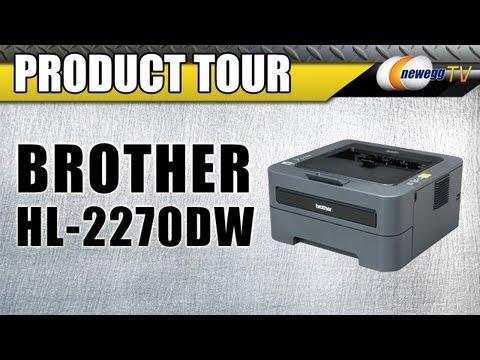 Newegg TV: Brother HL-2270DW Monochrome Duplex Laser Printer Product Tour