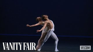 Watch New York City Ballet principals Tiler Peck and Robert Fairchi...