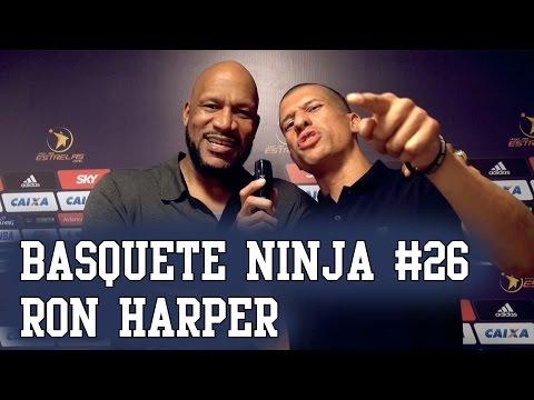 Basquete Ninja #26 - Ron Harper