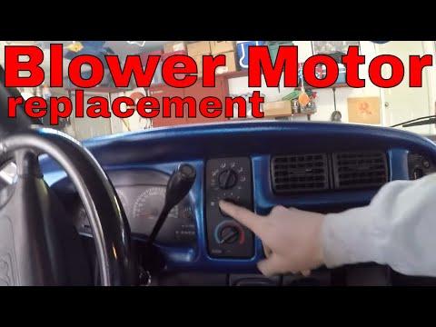 1999 Dodge Ram Heater Blower Motor Repair/Replace