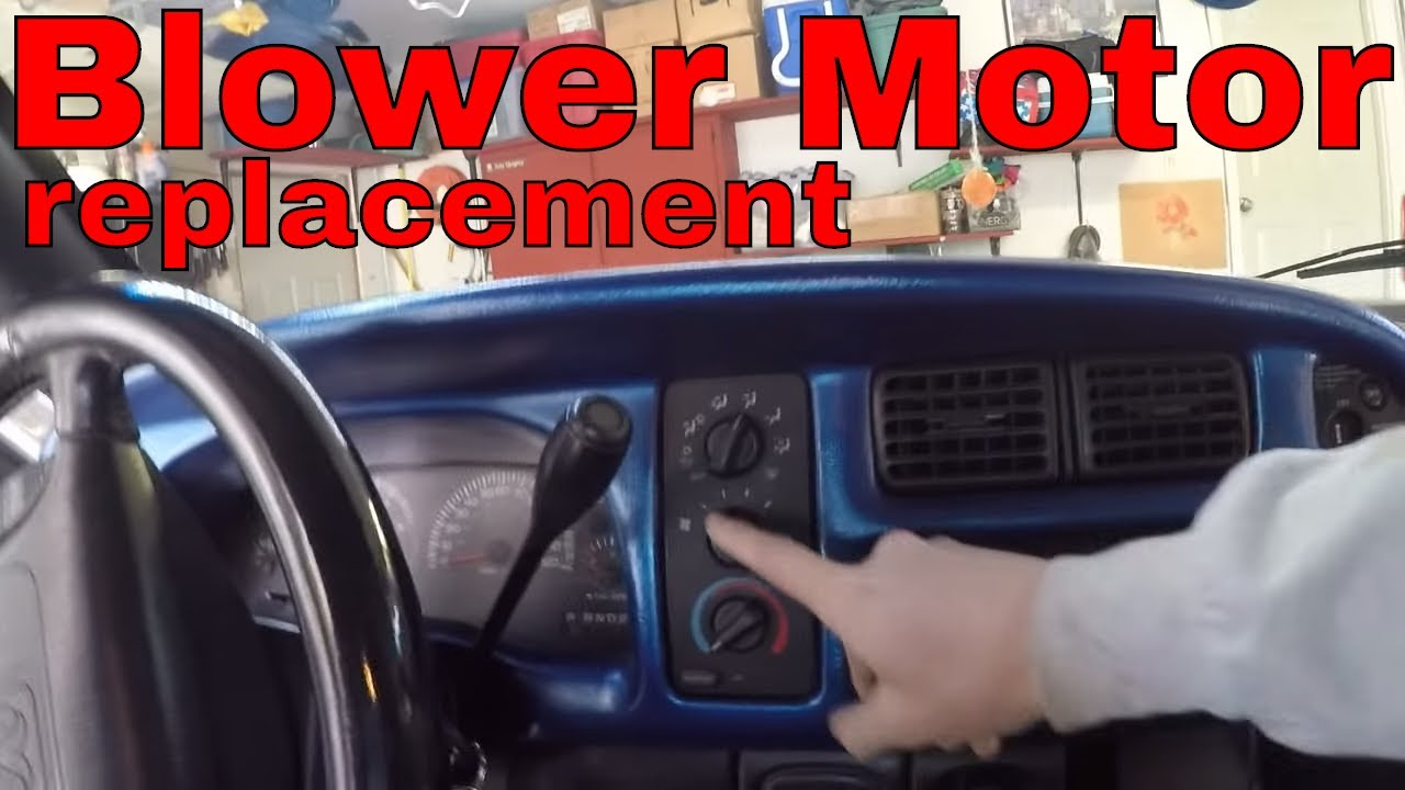 1999 Dodge Ram Heater Blower Motor Repair Replace Youtube 1992 Dakota Radio Wiring Diagram