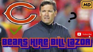 Bears Hire Bill Lazor As The New Offensive Coordinator