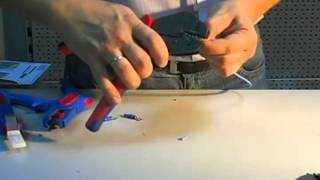 Обжимка кабельных наконечников Knipex(, 2012-07-06T12:12:24.000Z)