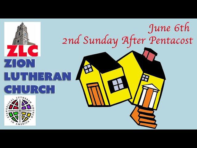 Service - 20210606 - 2nd Sunday After Pentecost