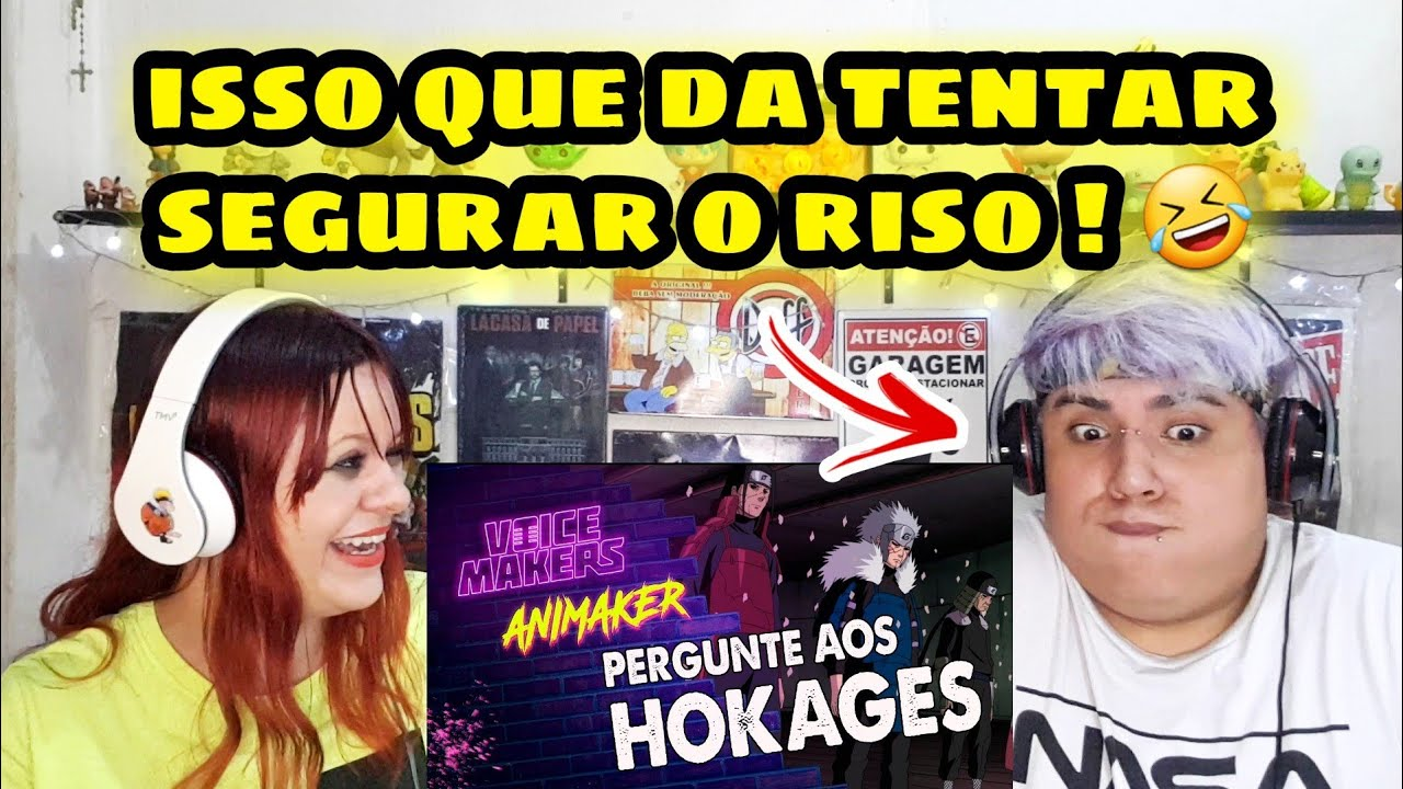 Download (REACT) PERGUNTE AOS HOKAGES (VOICE MAKERS)