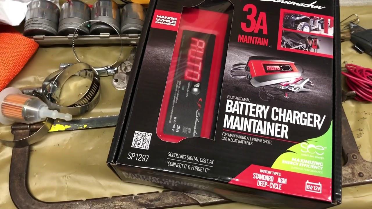 Schumacher Electric 6 12 Volt 3a Charger