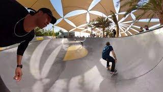 Skate to Create at The XDubai Skatepark