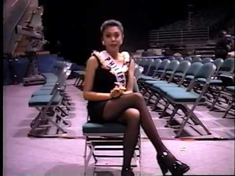 Interview by me of Jewel Lobaton, Miss Philippines 1998, in Hawaii, May 10 1998
