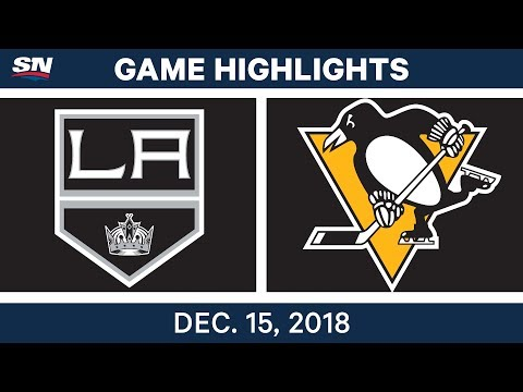 NHL Highlights | Kings vs. Penguins - Dec 15, 2018