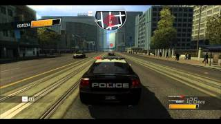Driver San Francisco: Gameplay Cop Chase Dodge Charger [PC HD]