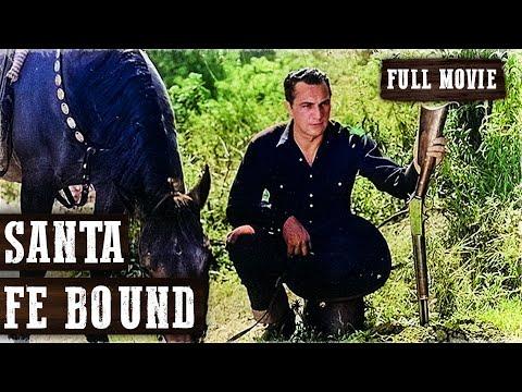 SANTA FE BOUND | Tom Tyler | Full Length Western Movie | English | HD | 720p