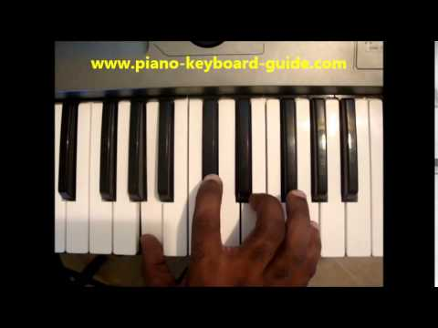 How To Play A7 Chord (A Dominant Seventh, Adom7) On Piano & Keyboard