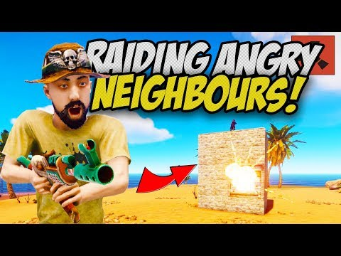 RAIDING RICH ANGRY NEIGHBOURS! - Rust Solo #2 thumbnail