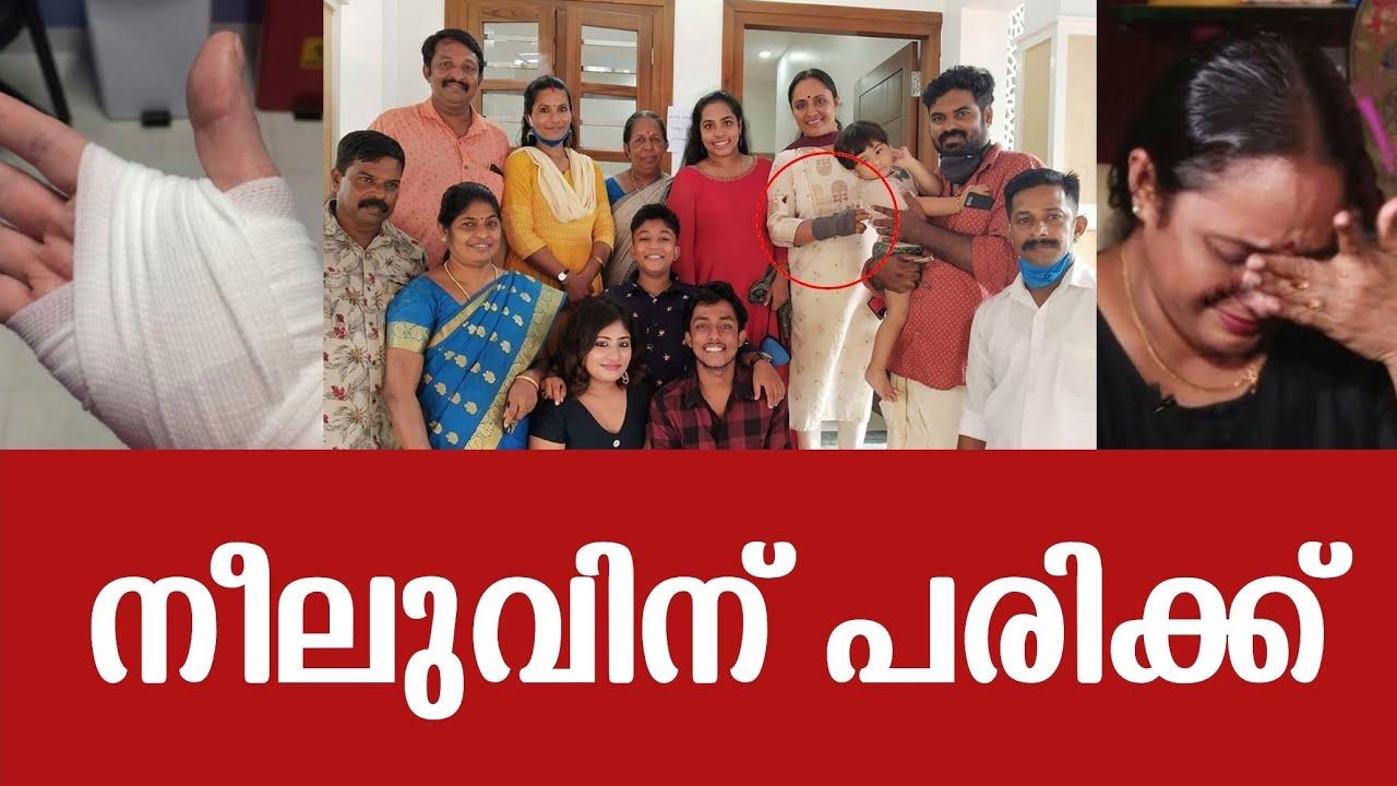 നീലുവിന്റെ വലത് കൈക്ക് പരിക്ക് | Uppum Mulakum | Flowers Tv | Neelu | Nisha Sarangh