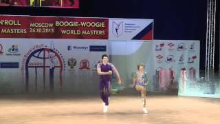 Дочь Путина танцует