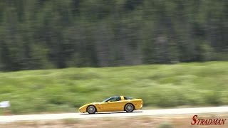 81 Year Old Grandma takes Corvette 166 MPH!!
