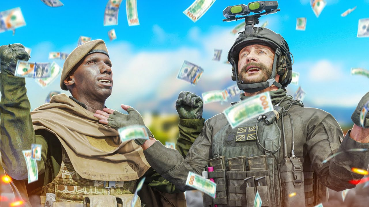 How we became the richest Call of Duty Warzone players!