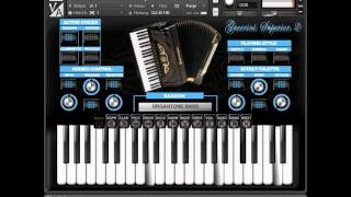 Repeat youtube video Virtual Acoustic - Guerrini Superior 2 accordion for NI Kontakt VST
