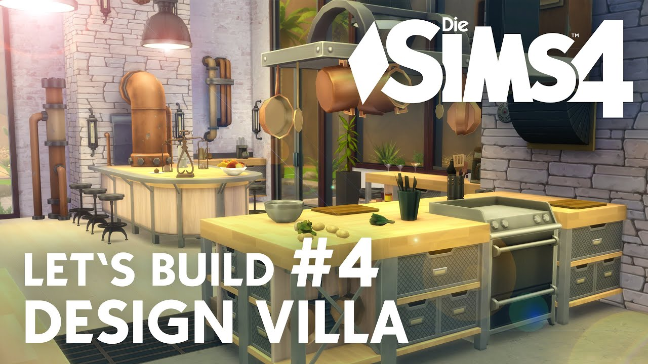 Sims 4 Küche Die Sims 4 Let 39s Build Design Villa 4 Küche
