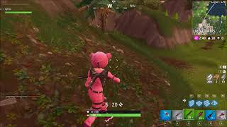 Fortnite real face of Pink Teddy Bear