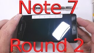 طبقة Gorilla Glass 5 في الهاتف Galaxy Note 7 ليست سهلة الخدش - إلكتروني
