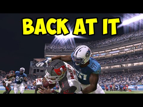 BACK AT IT - MADDEN 16 - Tampa Bay Buccaneers vs. Tennessee Titans