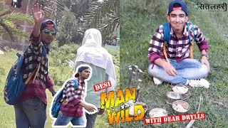 Man Vs Wild | Spoof In Hindi | comedy | Bear Grylls | Discovery Chanel