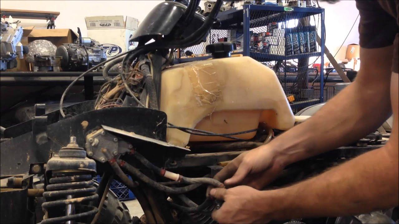 Carburetor On A Polaris Magnum 325