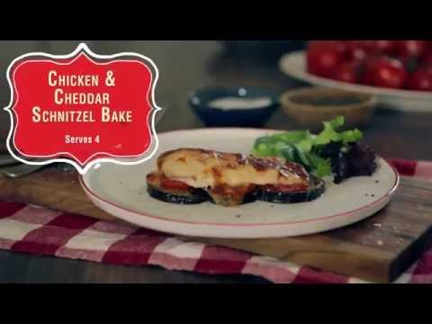 Chicken & Cheddar Schnitzel Bake thumbnail