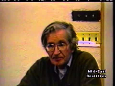 MERTV45   Chomsky on Oslo and 'Peace Process' 1997   Part 3 SD