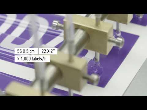 Doming Machine Model 4050HP-XL