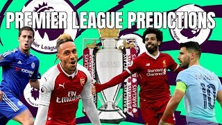 Premier League Predictions - Who's Winning The League? Who's Getting Relegated?