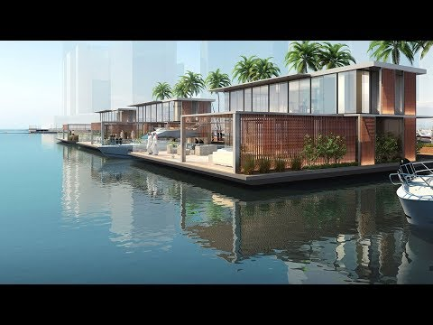 Marasi Floating Homes Business Bay by Dubai Properties +971 4553 8725