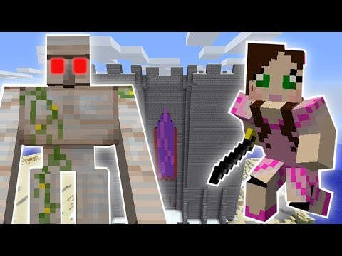 Minecraft: GOLEMZILLA'S DUNGEON OF PAIN MISSION! - Custom Mod Challenge [S8E62]